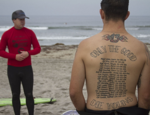 Why Surfing Soothes PTSD